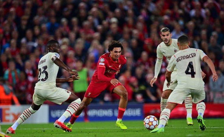 """""""Liverpool Terlalu Cepat dan Bagus untuk AC Milan…"""""""